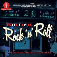 British Rock 'N' Roll-The Absolutely Essential - 3 DISC SET - Br (2015, CD NEUF)