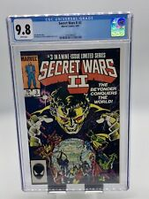 Secret Wars II #3 CGC 9.8 White Pages Beyonder Appearance (1985) BRAND NEW CASE