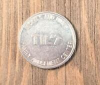 Vintage Tilt Arcade Family Amusement Center 2 Coupon Token