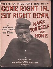 Come Right In Sit Right Down Make Yourself At Home 1909 Large Format