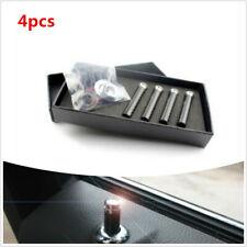 4pcs 1cm x 3.2cm Carbon Fibre Universal Car Interior Door Lock Knob Pull Pin