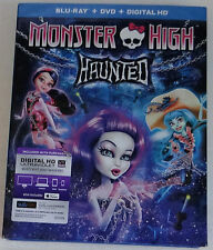 MONSTER HIGH: HAUNTED - [BLU-RAY/DVD COMBO PACK](2015) - NEW UNOPENED