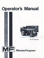 Massey Ferguson MF 135 Tractor Owners Operators Manual
