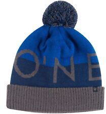 O'Neill Blockhead Black or Royal Pom Beanie Hat Cap