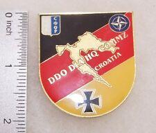 Germany Badge for German Headquarters Croatia