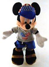 "Disney Tourist 9"" Mickey Mouse Authentic Park Souvenir all Plush USA Hat & Tee"