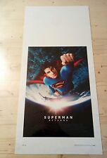 Locandina Film SUPERMAN RETURNS (2006)  Poster Movie Originale Cinema 33x70