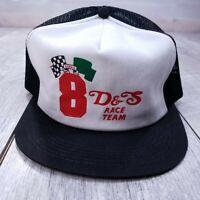 Vintage Sarnia 8 D&S Race Team Trucker Hat Cap Snapback Black K-Brand Kbrand