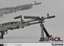 1:6 ZYTOYS ZY16-9 M240L 7.62mm General Machine Guns Rifle Weapon Model