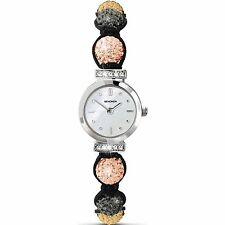 New Ladies Sekonda Crystalla Watch with Peach, Gold and Dark Silver Beads 4718