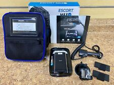 *Escort Max 360 Vehicle Radar Detector (Black) PreOwned Free Shipping Buy It Now