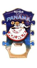 PANAMA - Hard Rock CAFE - HRC GUITAR HEAD MAGNET - CITY BOTTLE OPENER - SOUVENIR