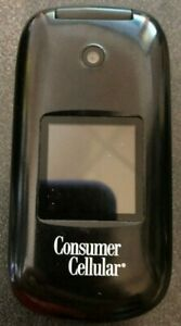 Huawei U3900 Consumer Cellular Black Cellular Phone Fast Shipping Excellent Used