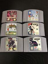 Nintendo 64 Lot Of 6 Games.
