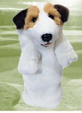Daphne's Jack Russell Terrier Headcover Driver Golf Head Cover