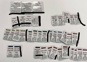 Monopoly 2021 McDonalds Bundle. Instant Wins And Food Prizes X40!