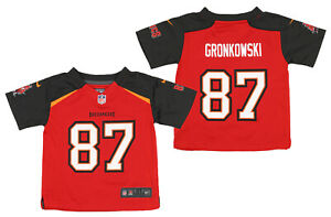 Nike NFL Toddlers Tampa Bay Buccaneers Rob Gronkowski #87 Game Team Jersey