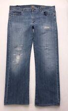 Z62 Citizens of Humanity SID Straight Distressed Stretch Jeans sz 36 (Mea 37x30)