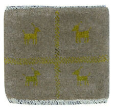 """1'3"""" x1'3"""" Oriental Wool Hand Knotted Traditional Tribal Gabbeh Area Rug"""