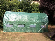 Portable Walk In Greenhouse Framed Prepper Grow Yard Tent Garden Plant Dome