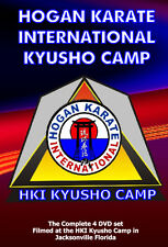 2004 Kyusho Extreme Self Defense Jack Hogan Karate International Seminar 4 DVDs