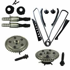 Timing Chain Kit Cam Phasers VVT Valves with Seal & Screw Fit Ford F150  F250