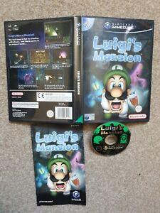 Nintendo GameCube Luigi's Mansion PAL Game Complete With Manual