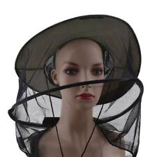 Mosquito Bug Bee Insect Repellent Mesh Net Hat Head Face Protector Fishing LI