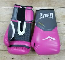 Everlast Women's Pro Style Training Gloves Pink 12 oz. Boxing Sparring Mitts