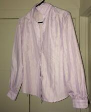 Vintage Women Clothing: LADY VAN HEUSEN Blouse Purple Size 8