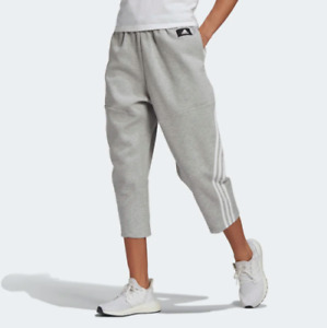 adidas Women's Sportswear Z.N.E. Wrapped 3-Stripes 7/8 Pants