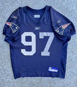Jarvis Green Practice Worn New England Patriots NFL Jersey COA Lik Game Use Worn