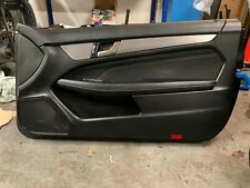 MERCEDES C CLASS COUPE W204 - DRIVER SIDE DOOR CARD OFFSIDE FRONT