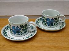 x2 Midwinter Stonehenge Caprice Jessie Tate Cups & Saucers