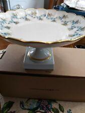 Limoge Bowl on pedastool with Gold Trim