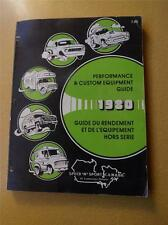 SPEED N SPORT CANADA PERFORMANCE & CUSTOM EQUIPMENT GUIDE 1980 AUTO PARTS