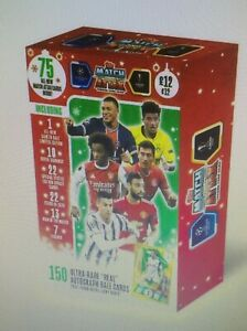Match Attax Festive Box 2020 Sealed, New Cards Featuring Bale Autograph if lucky
