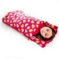 18 In Doll PINK SLEEPING BAG Fits American Girl, Clothes, Clothing & Accessories