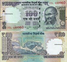 India 2018 Urjit Patel 100 Rs L Inset Paper Money Bank Note Unc New