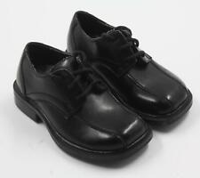 Deer Stags Boys Black Dress Church Oxfords Shoes Size 7M
