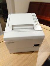 White Epson TM-T88II Thermal Receipt Printer Serial interface