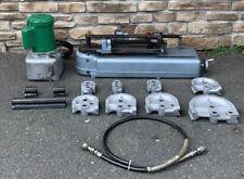 Parker 632 Hydraulic Tube Bender Amp Dies Greenlee Electric Hydraulic Pump