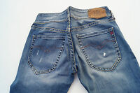 REPLAY WV531 Damen Jeans Hose stretch W26 L32 used l. stone wash blau NEU ad16