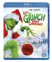 The Grinch Blu-Ray (2015) Jim Carrey, Howard (DIR) cert PG ***NEW*** Great Value