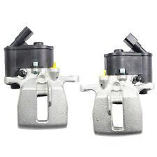 NEW Rear Pair Brake Caliper w/ Actuator For Audi A6 04-11 4F0615403A