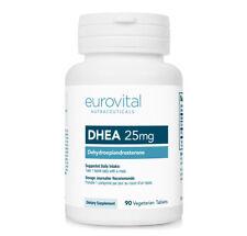 EuroVital DHEA 25mg 90 Vegetarian Tablets