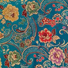 1,5m (150cm) Tissu de brocart jacquard aux broderie fine couture tissu