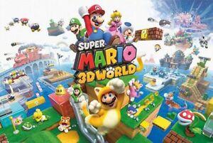 SUPER MARIO - 3D WORLD POSTER - 24x36 - 54116