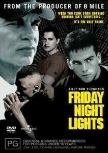 Friday Night Lights - Billy Bob Thornton DVD New Movie Sealed
