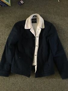 mens fleece jacket small